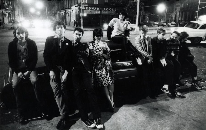 "No Wave Punks, Bowery 1978 - Available as 8""x10"" Silver Print w/Slipcase Edition"