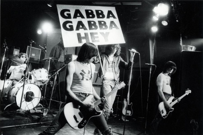 "Ramones, CBGB's 1977 (Gabba) - Available as 8""x10"" Silver Print w/Slipcase Edition"