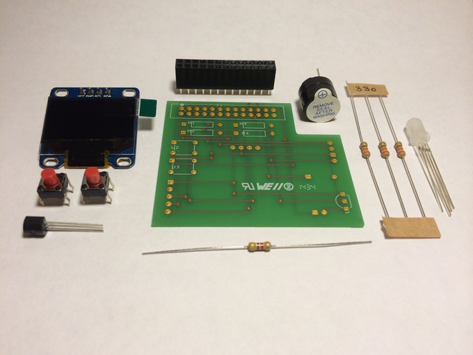 Raspberry Pi Multi Function Board + OLED Display! EduBoard
