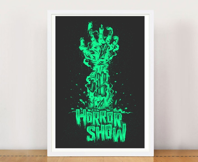 PRINT PACKAGE 1 - Horror Show A3 giclee print