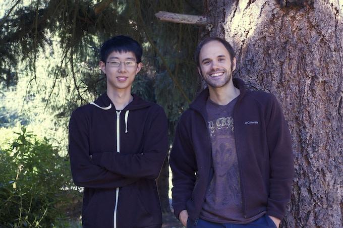 Marshall Meng and Matt Chapman