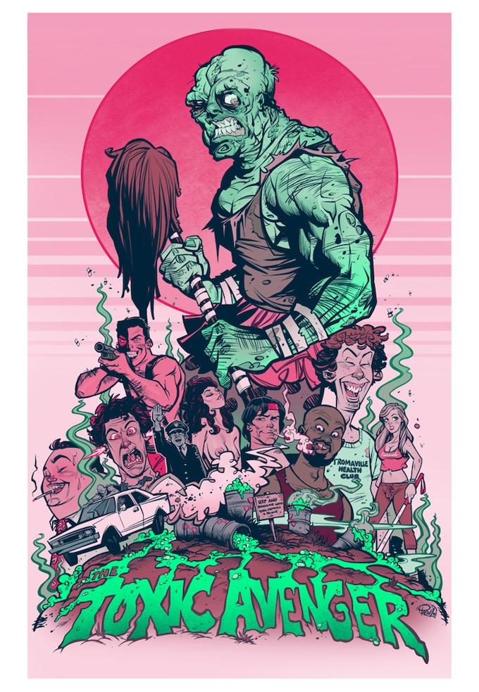 Toxic Avenger by Blitz Cadet