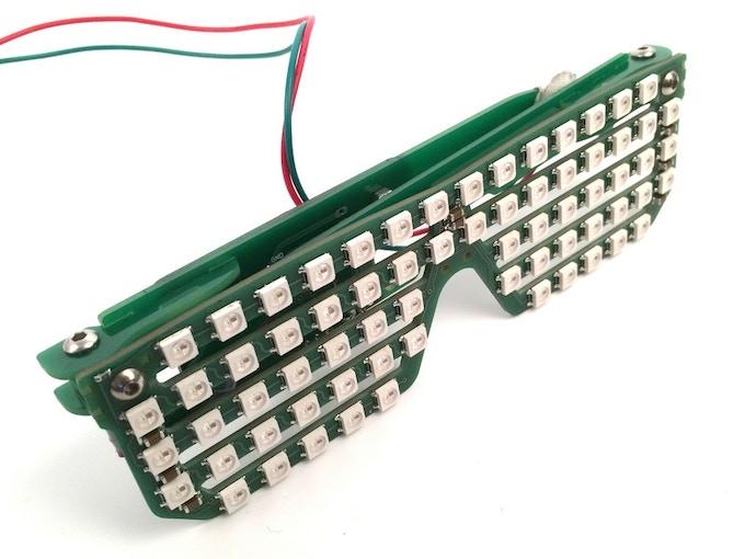 3fda4635b77 RGB Shades  Programmable LED Glasses by macetech LLC — Kickstarter