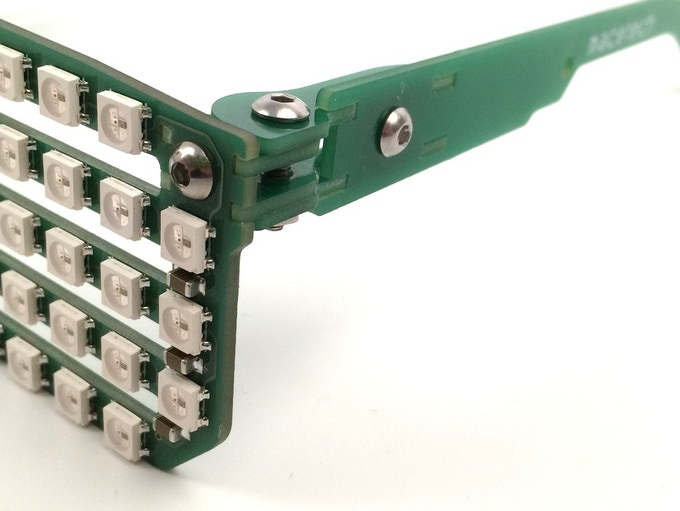 PCB puzzle hinge