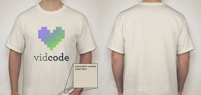 Vidcode T-shirt design