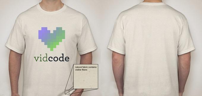 Vidcode T-shirt design