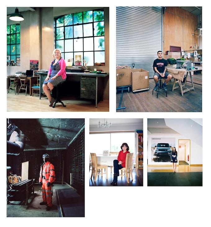 Editorial portraits, Telegraph Magazine