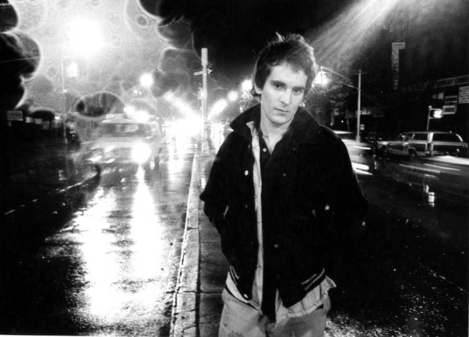 "Alex Chilton, Bowery 1977 - Available 8'x10"" w/Slipcase Edition"