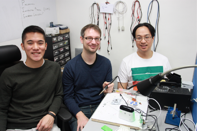 Founding Team: Timothy Chang, Paul Sykes, Julian Lee