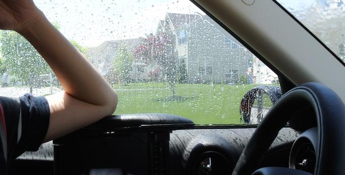 Raining? You can still enjoy ArmRestor with the window closed!