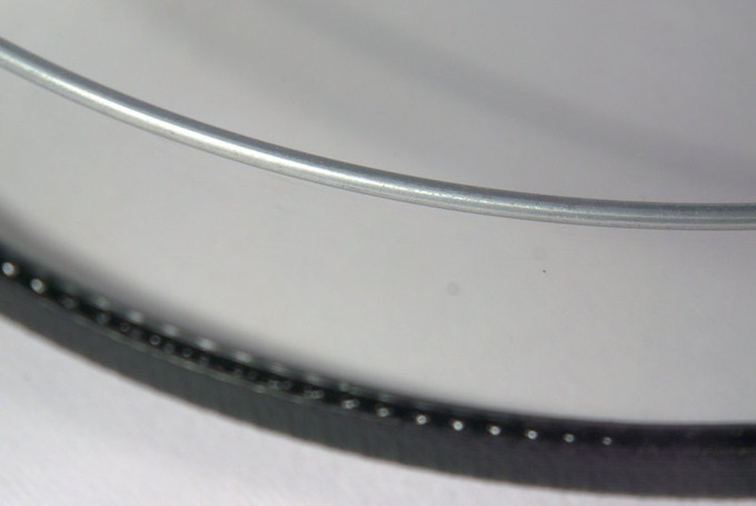 Galvanised support ring