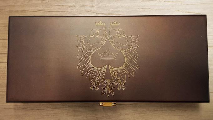 Poker Wooden Box Set