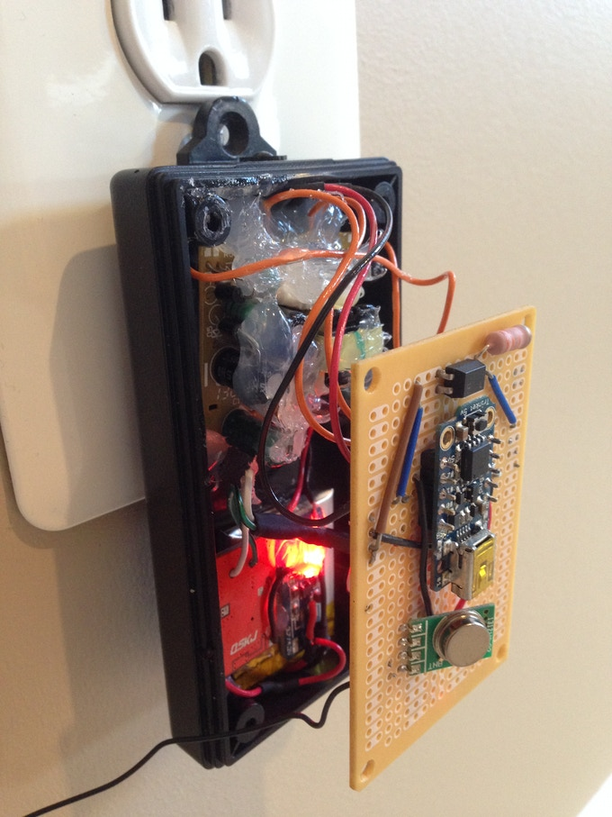 Internal componentry of Transmitter Prototype