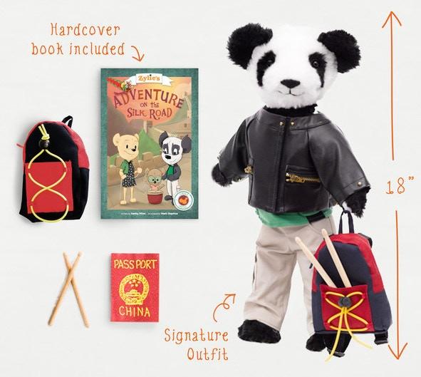 Shen the Panda Adventure Kit