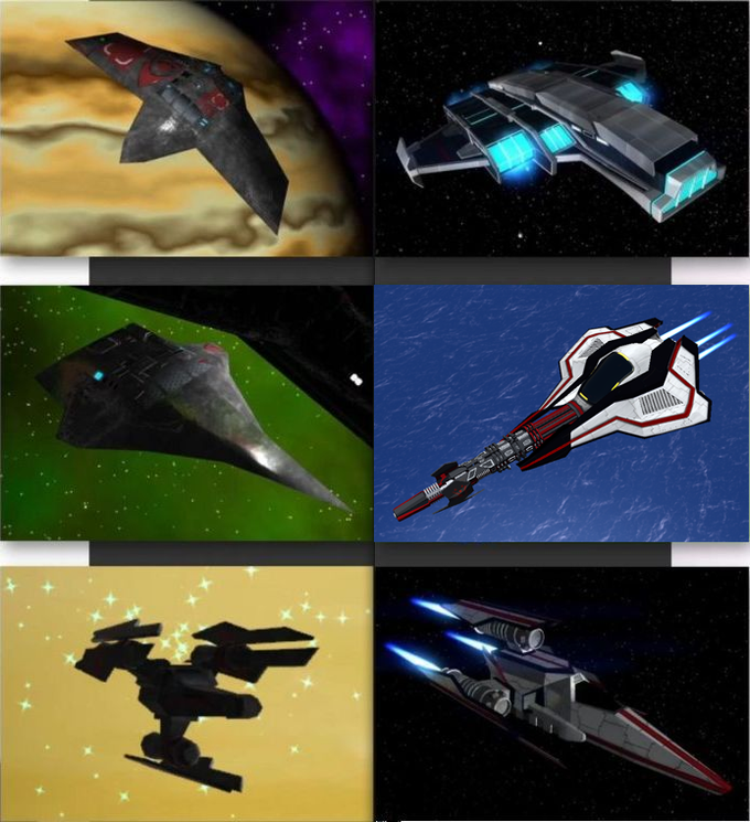 Old ships and their replacements