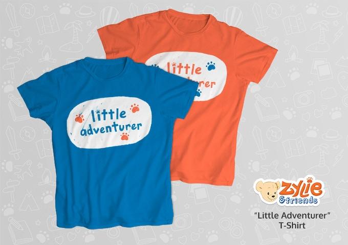 'Little Adventurer' t-shirts!