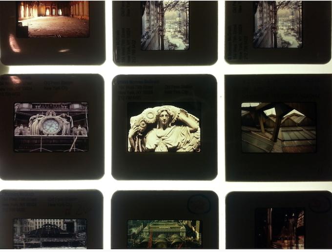 Slides from Norman McGrath's Penn Demolition Catalogue