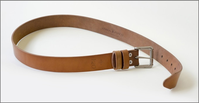 9b90c19c0 Our first lifetime belt prototype patterned after my antique Swedish  military belt from WW2.