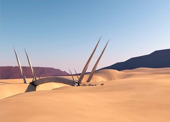 Desert Bridge Design - Entering the White Witch's territory