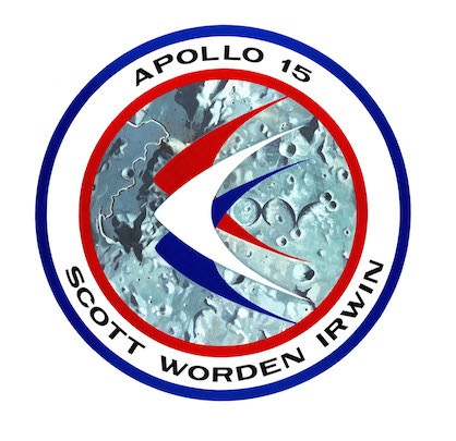 Apollo 15 Mission patch (Source: NASA)