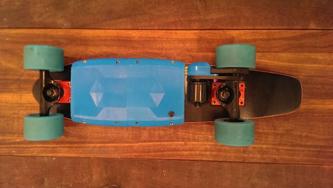 One of our boards after 4 weeks of testing, approx 120 miles of use.