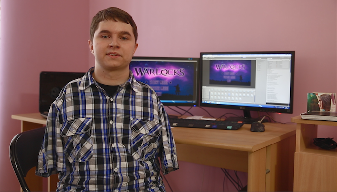 Meet Max, our programmer and read the exclusive behind the scenes interview with him and Dushan.