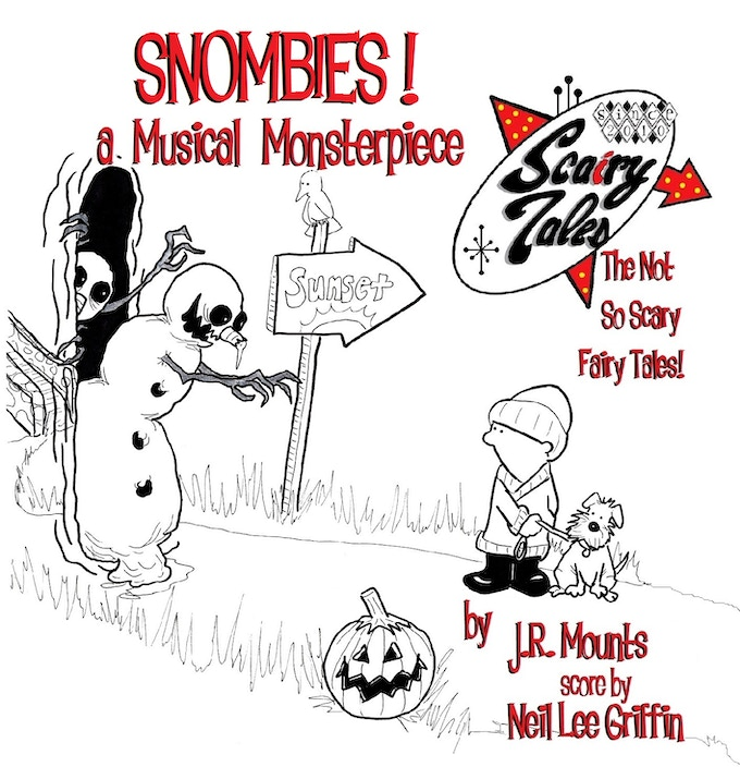 SNOMBIES cd cover!
