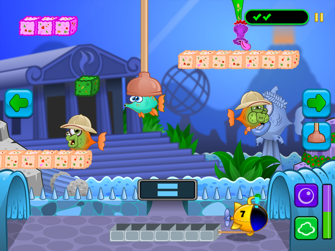 A NEW game mode lets you collect fish for your aquarium!