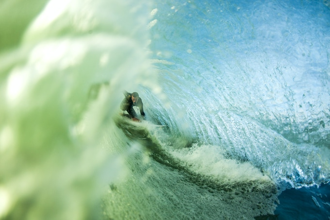 Photo: Ryan Mack Rider: Clay Pollioni Mount: GoSurf