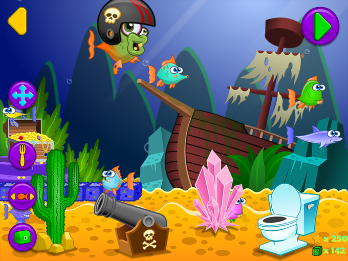 Customize your own aquarium with collectible fish and unlockable items!
