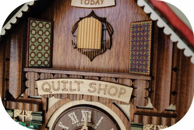 Quilt Shop Cuckoo Clock 2 By Jodie Davis Kickstarter