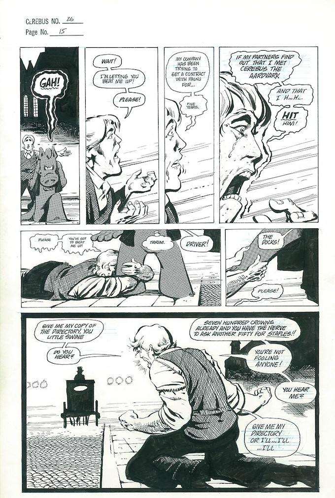 Plate #2 - CEREBUS No. 26 page 15