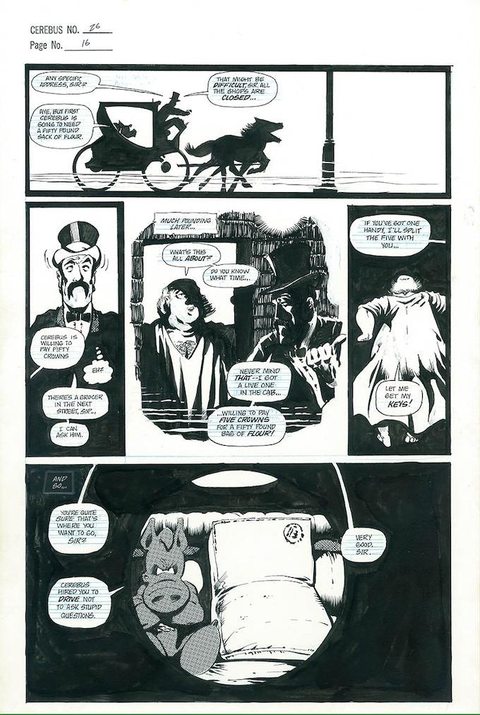 Plate #3 - CEREBUS No. 26 page 16
