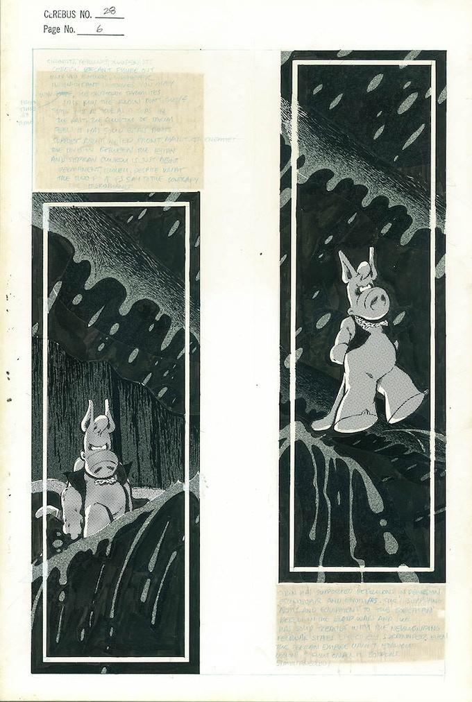 Plate #8 - CEREBUS No. 28 page 6