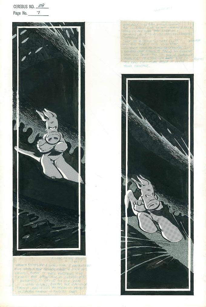 Plate #9 - CEREBUS No. 28 page 7