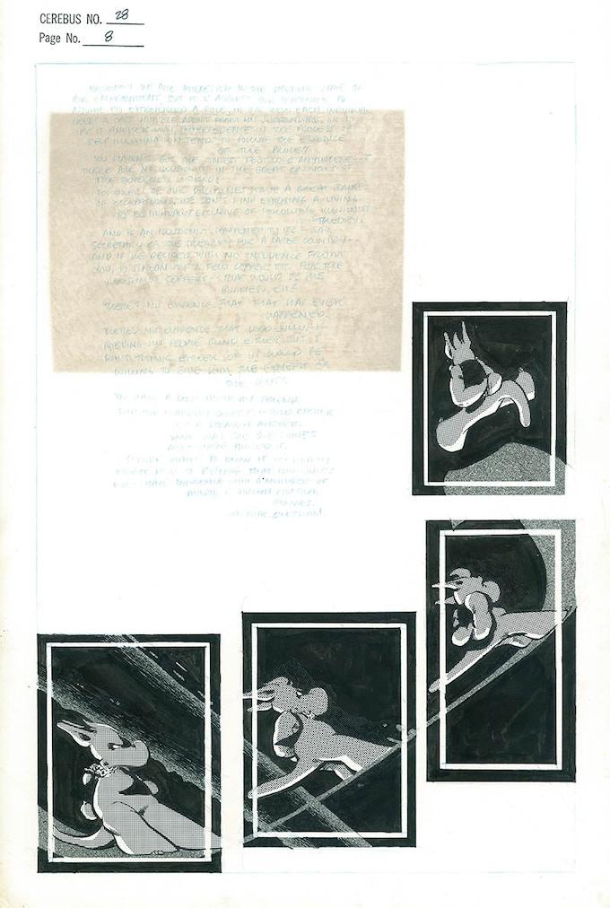 Plate #10 - CEREBUS No. 28 page 8