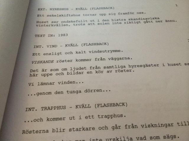 Page one - Sensoria