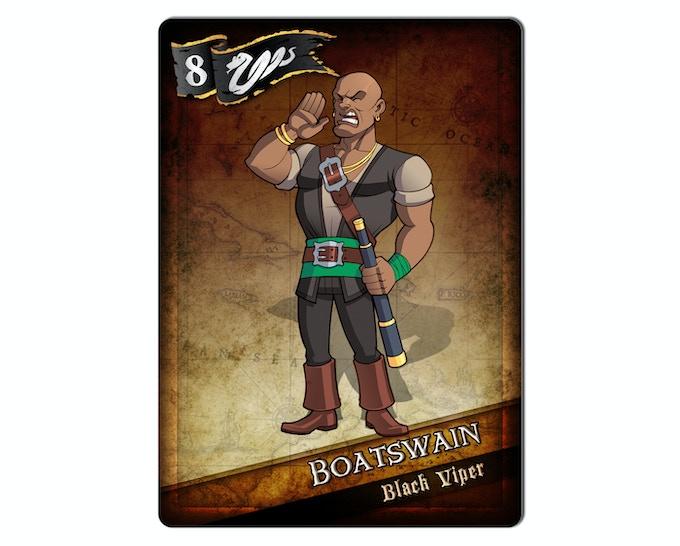 The Boatswain of the Black Viper