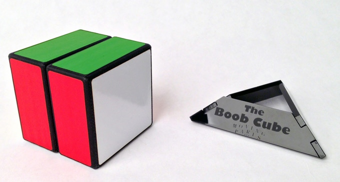 A solved Boob Cube.