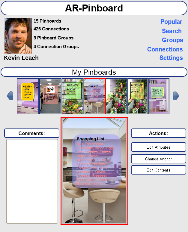 Obviously, a professional UX designer will make it look visually appealing. This is just a mock-up made by me!