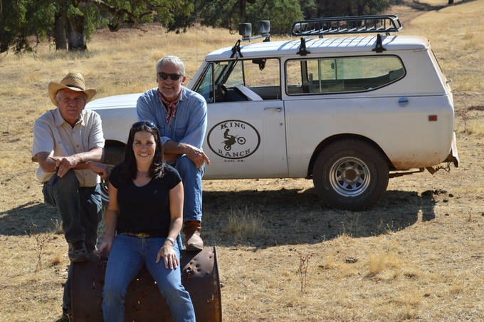 Actor/director Perry King with Screenwriter Jana Brown and Director of Photography Russ Rayburn
