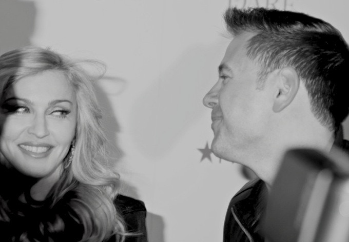 Meeting Madonna, I was officially #dead! (Courtesy of Gregory Pace)