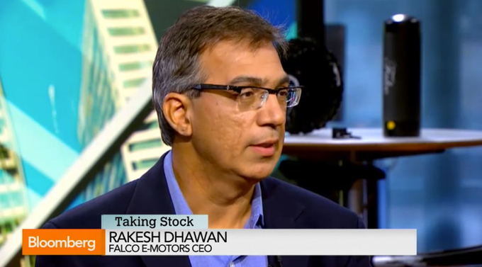 Rakesh Dhawan on Bloomberg