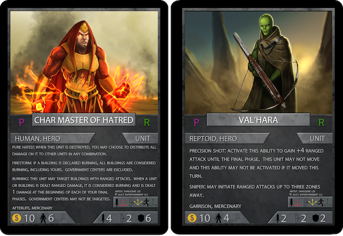 Cards still subject to changes