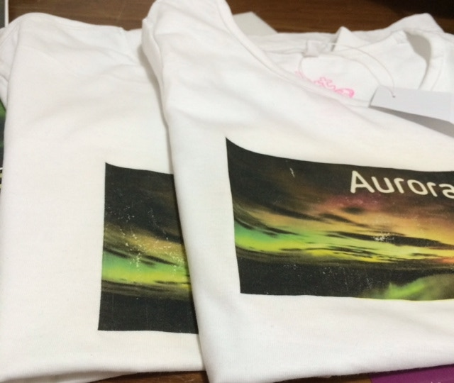 Aurora Labs T shirts - printed by Aurora Labs