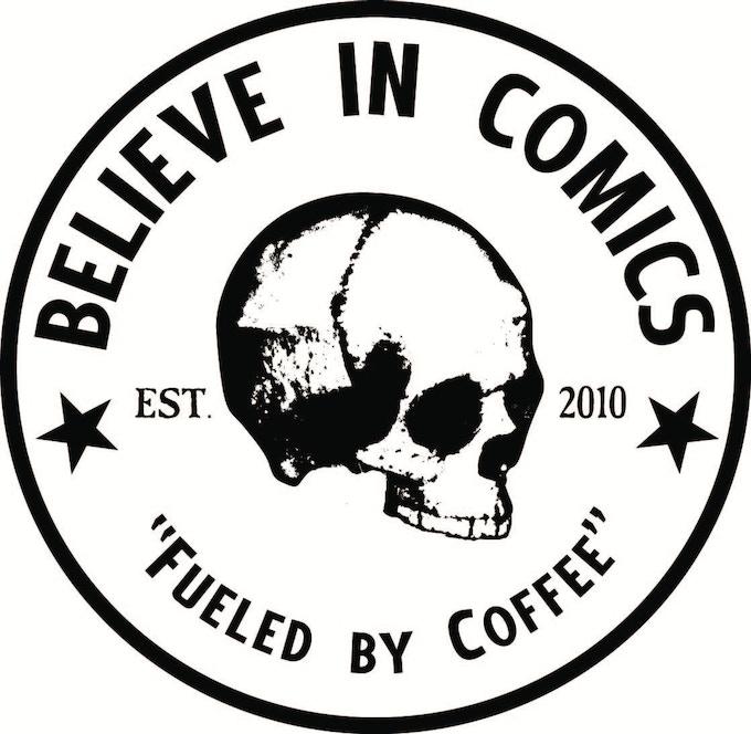 BELIEVE IN COMICS STICKERS!