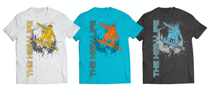 The High Life™ Snowboarder Collection