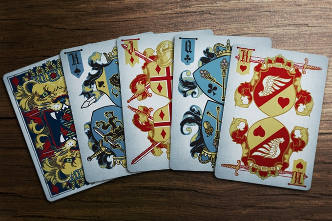 Pick any card from any deck for a 12 x 18 poster!