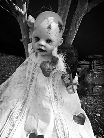 Dead by Design doll by Michelle Centorino-Moden