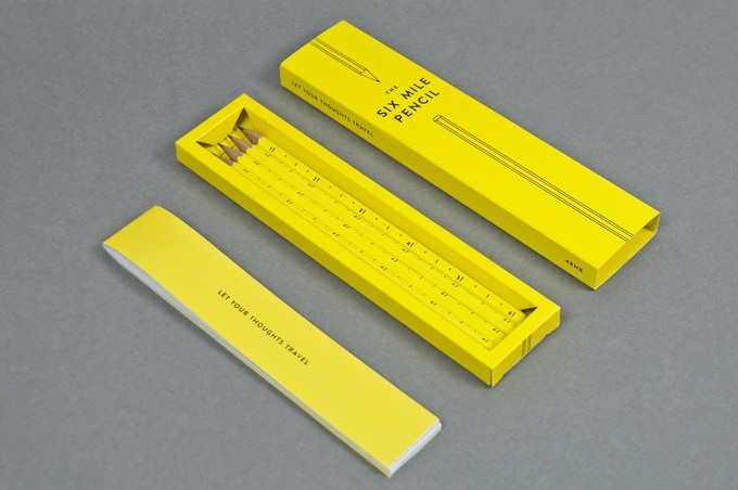 Each Pack Includes 4 x Pencils And 1 x Mini Notebook